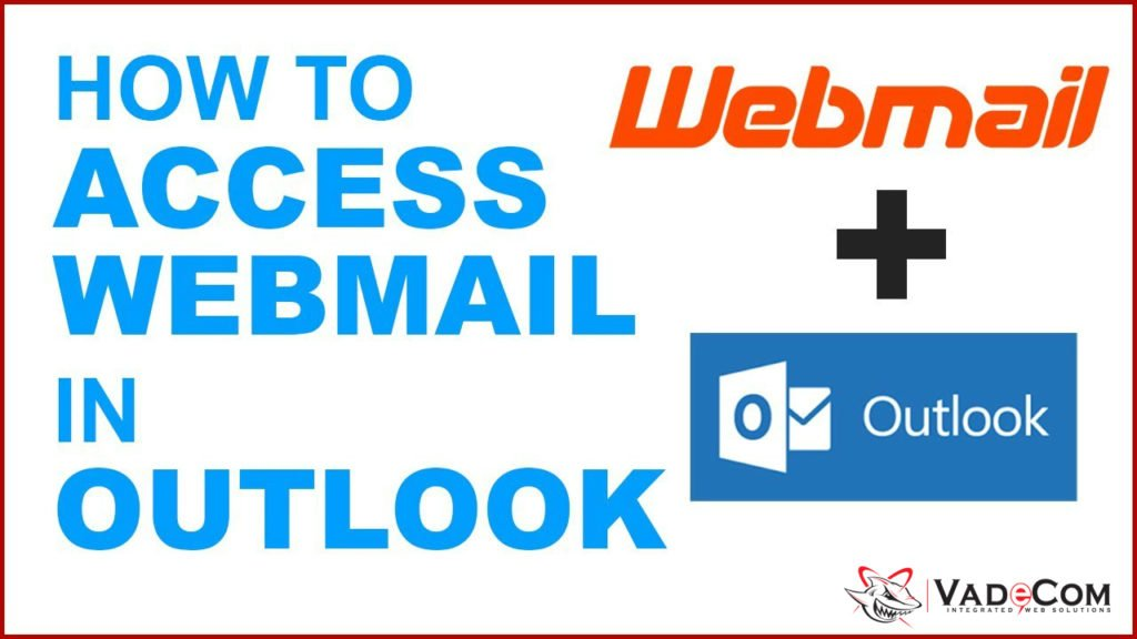 Webmail in Outlook