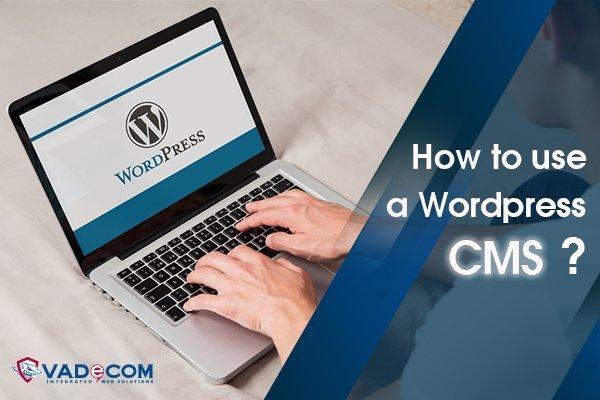 لوحة تحكم WordPress