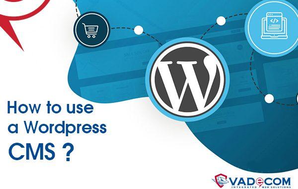 كيف تتعامل مع لوحة تحكم wordpress