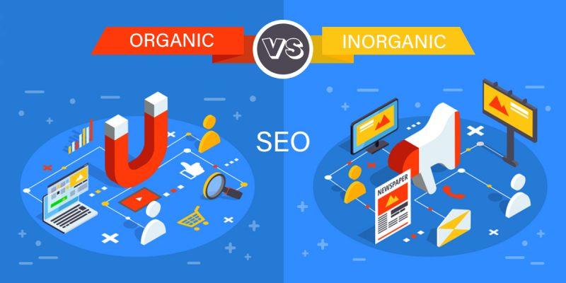 Organic VS Inorganic SEO