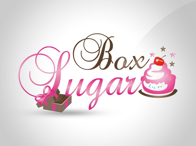 design logo box sugar
