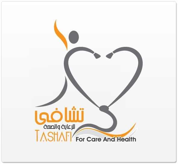 Logo Design Tashafi For Care and Health